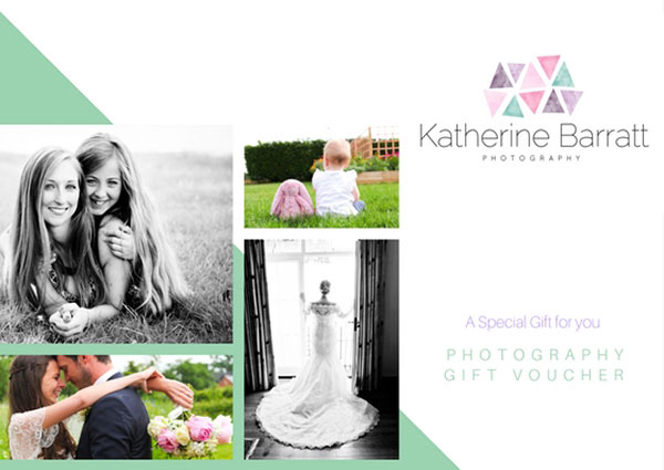 Gift Vouchers for Wedding and Portrait Photography