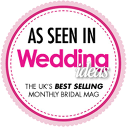 As seen in Wedding Ideas Magazine